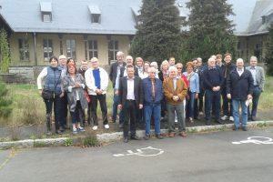 Fraktion besucht Fliegerhorst