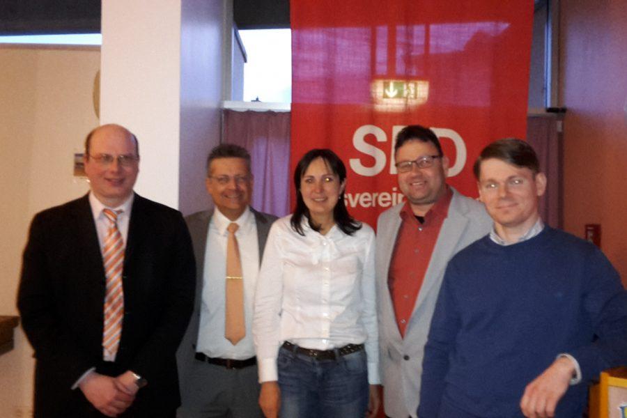 Birgit Reuhl als neue Vorsitzende der SPD-Erlensee