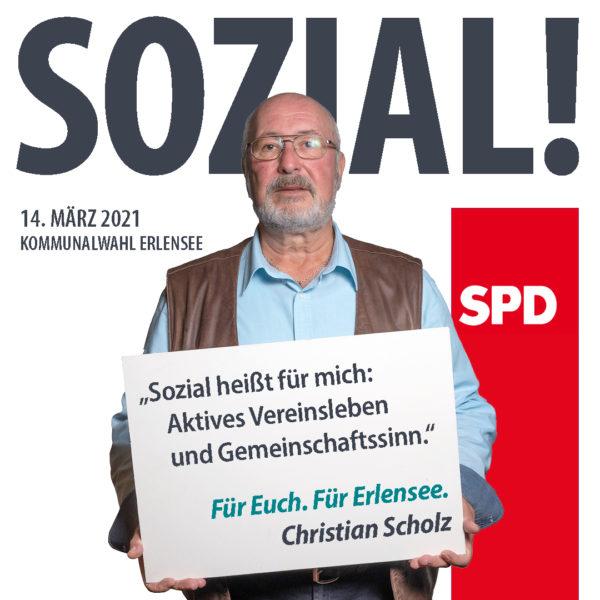 Christian Scholz Sozial