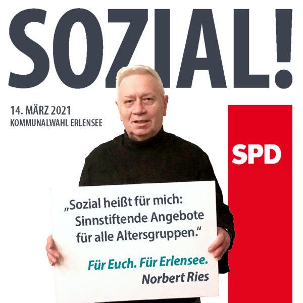 Norbert Ries Sozial